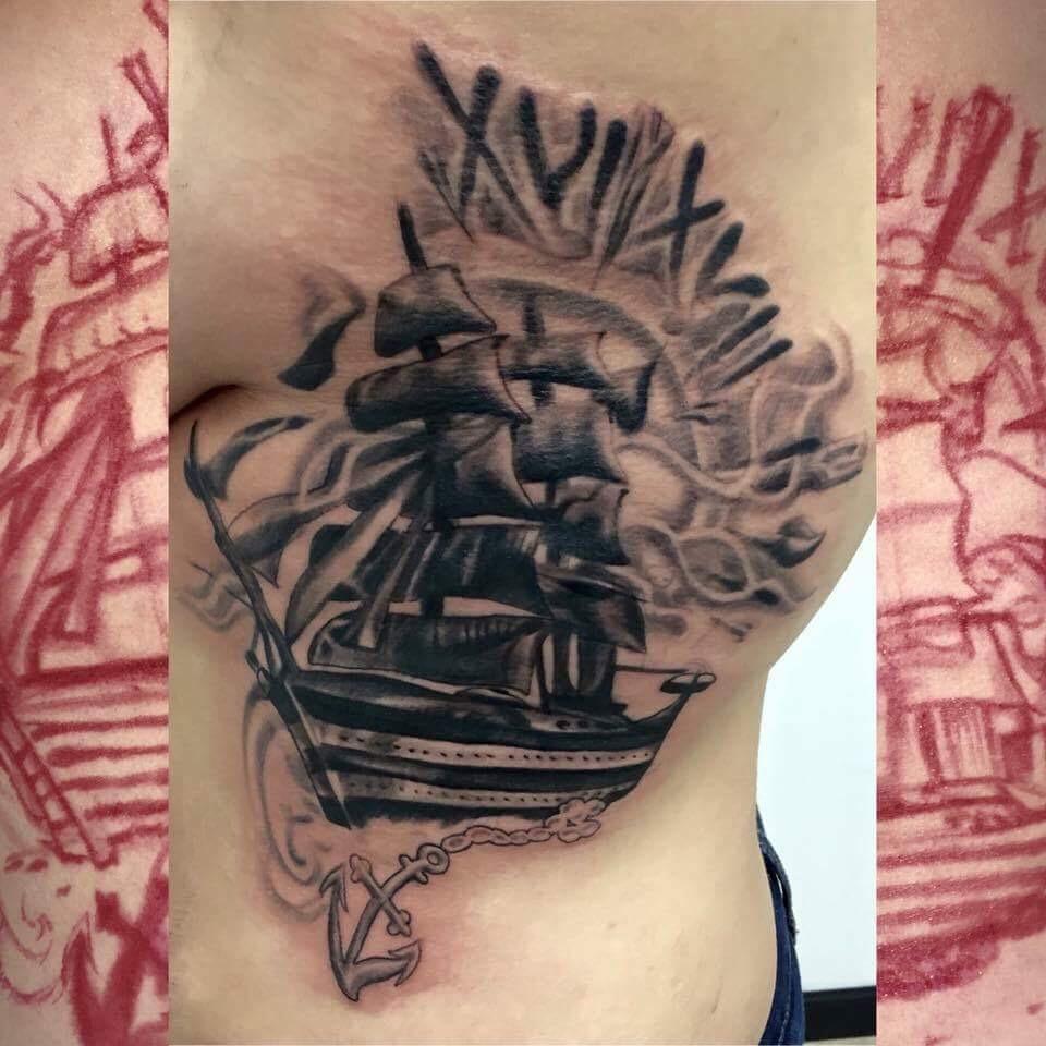 Brad firme copias for Tattoo parlors wichita ks