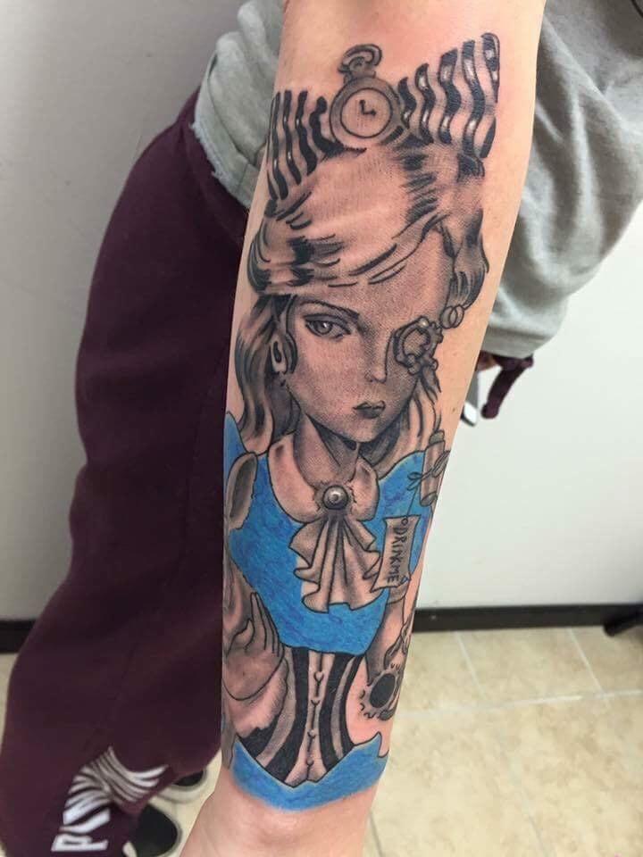 Lady Sleeve Custom Tattoo - Firme Copias