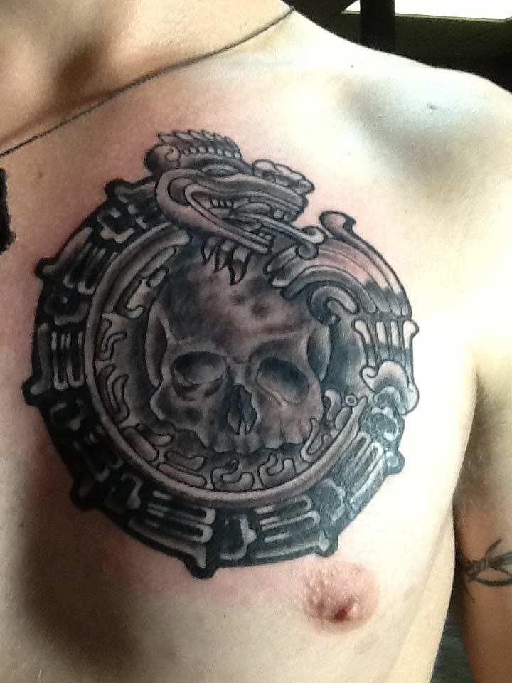 Skull Tattoo in San Antonio - Firme Copias