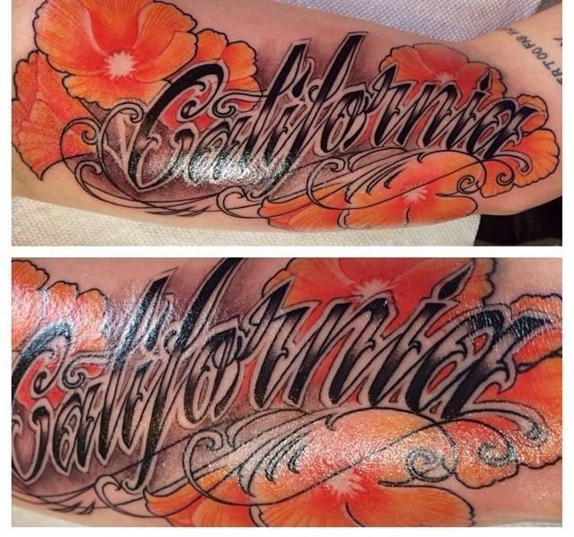 California Custom Tattoo in San Antonio Tx- Firme Copias