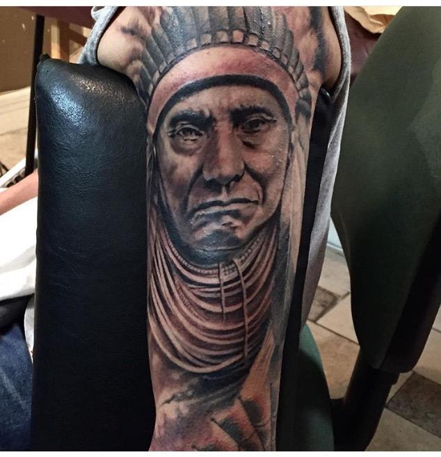 Indian Custom Tattoo - Firme Copias