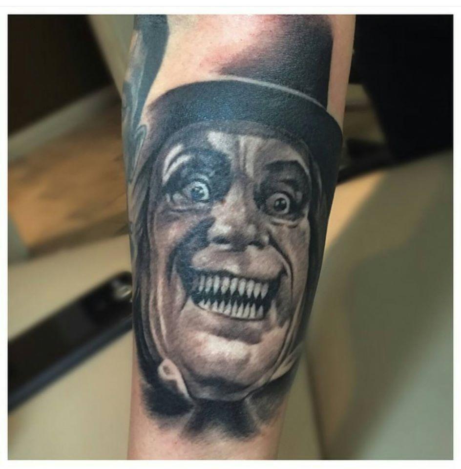 Grin Face Custom Tattoo - Firme Copias