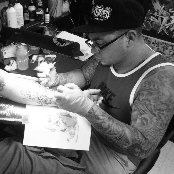 Tattu Tim - Firme Copias - Best San Antonio Tattoo Artist