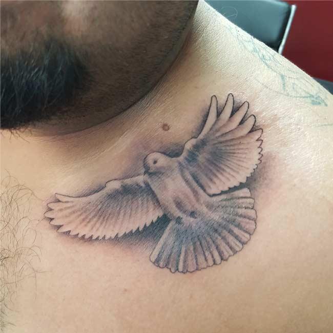 Dove Custom Tattoo - Firme Copias -Top Rated tattoo shop in San Antonio