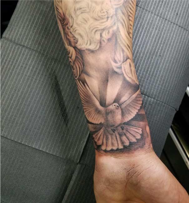 Affordable San Antonio Arm Sleeve Custom Tattoo - Firme Copias
