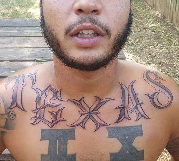 Texas Custom Tattoo by Tattu Tim - Firme Copias- Tattoo in San antonio