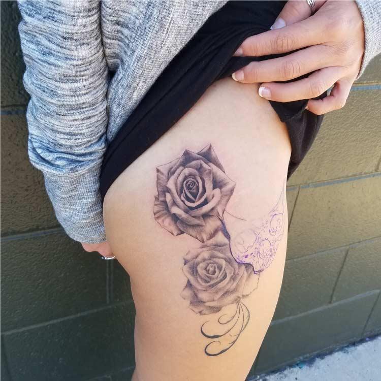 Roses Custom Tattoo - Firme Copias - Tattoo parlor in San Antonio